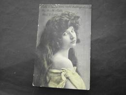 A2    Frau,  Bandstempel Linz 1909 - Photographs