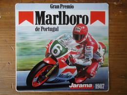 STICKER / AUTOCOLLANT   MARLBORO - GRAN PREMIO De PORTUGAL - MOTO GP -  JARAMA 1987 - Stickers