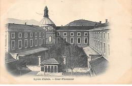 Lycée D'ALAIS - Cour D'Honneur - Très Bon état - Alès