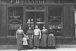 Carte Photo à Identifier - Boulangerie Pâtisserie - Maison Grunewald  N° 4 - Te Identificeren