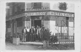 Carte Photo à Identifier - Café Bar Régent - Maison LEON - Restaurant - Hôtel Café- N° 226 - To Identify