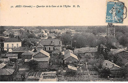 ARES - Quartier De La Gare Et De L'Eglise - Très Bon état - Arès
