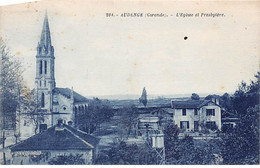 AUDENGE - L'Eglise Et Presbytère - Très Bon état - Other Municipalities