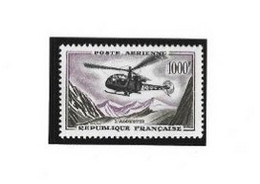 TIMBRE FRANCE POSTE AERIENNE N°37 NEUF ** LUXE - 1927-1959 Nuevos