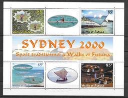 Wallis & Futuna BF N° 9 - Blocks & Sheetlets