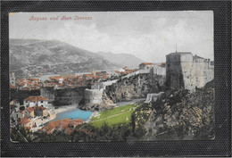 AK 0714  Ragusa Und Fort Lorenzo Um 1907 - Ragusa