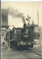PHOTO - 16,5 X 11,9 - LOCOMOTIVE (AFFRIQUE?) - Trenes