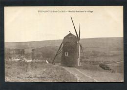 CPA - PEUPLINGUES LEZ CALAIS - Moulin Dominant Le Village - Otros Municipios