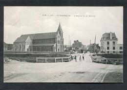 CPA - WIMEREUX - L'Eglise Et La Mairie, Animé - Andere Gemeenten