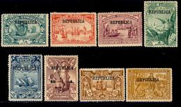 ! ! Timor - 1913 Vasco Gama (Complete Set) - Af. 126 To 133 - MH - Timor