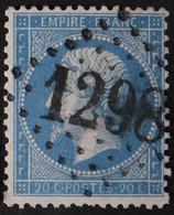 22a Obl GC 1298 Dienville (9 Aube ) Ind 7 ; Frappe Très Nette Et TB Centrée - 1849-1876: Classic Period