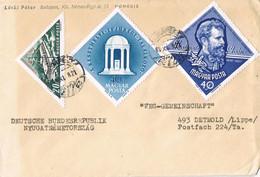 40557. Carta BUDAPEST (Hungria) 1963. Lineal WEG Gemeinschaft. Ley Condominios - Cartas