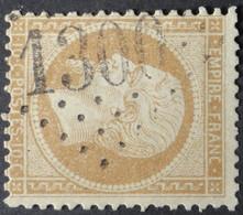21 (cote 10 €) Obl GC 1300 Dieulefit (25 Drome ) Ind 4 ; Frappe Nette - 1849-1876: Période Classique