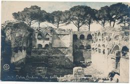 2d.198.  OSTIA ANTICA - Roma - Via Delle Tombe... - Collezione P.E. Chauffourier (P.E.C.) - Autres Villes