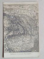 Ukraine 556 Bukowina Bucovina Bukovina Czernowitz Cernauti Chernivtsi Cernivci 1916 Map Warmap War - Ukraine