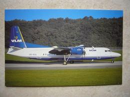 Avion / Airplane / VLM / Fokker F27 / Seen At Rotterdam Airport / Flughafen / Aéroport / Aeroporto - 1946-....: Era Moderna