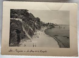 44  St Nazaire 1957 Plage De La Rougeole Carrelets Baigneurs Fortification Pins - Saint Nazaire
