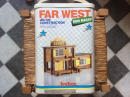 ANCIEN JEU DE CONSTRUCTION  Far West  JEUJURA  Construction Set   REF.8064 - Non Classificati