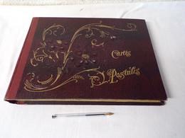 Album Cp Bordeaux Vide-496 Cp-37 X 27 Cm-qq Défauts, Qq Coins Cartons Cassés - Álbumes, Forros Y Hojas