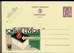 Publibel Neuve N° 448 ( Les Charbons De FONTAINE - L'EVEQUE Sont Les Meilleurs) - Publibels