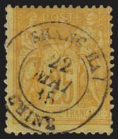 France N°92, Oblitéré Càd SHANGHAI Chine 1885 - B/TB - 1876-1898 Sage (Tipo II)