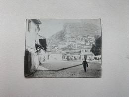 Albania Albanien Shqipenia 4182 Berat Square Platz Piazza Photo 5.4 X 4 Cm - Albania