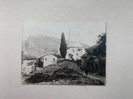 Albania Albanien Shqipenia 4180 Berat Mosque Moschee Moschea Minaret Photo 5.4 X 4 Cm - Albania