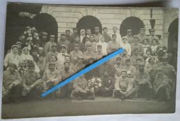 1915 Lectoure Gers Hôpital Croix Rouge Infirmières UFF Union Femmes De France Blessés Tranchée Ww1 Poilus 14-18 Photo - Guerra, Militari