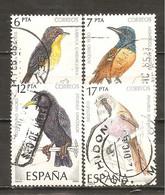 España/Spain-(usado) - Edifil  2820-23 - Yvert  2439-42 (o) - 1981-90 Used