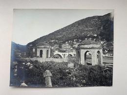Albania Albanien Shqipenia 4175 Berat Bridge Brücke Ponte Photo 10.7 X 8.2 Cm - Albania