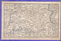 Carte Postale 80. Péronne Théâtre De La Guerre  Front Français    Très Beau Plan - Peronne