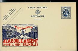 Publibel Neuve N° 18 ( A LA BOULE D'ARGENT - Tissus - Bruxelles) - Publibels