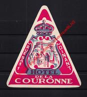 Dinant - Hotel De La Couronne - Rue Sax - Hotel Label  - België Belgique - Etiquetas De Hotel