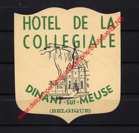 Dinant - Hotel De La Collegiale - Hotel Label  - België Belgique - Etiquetas De Hotel