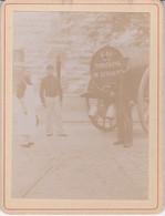 EURE ET LOIR TOMBREAU EAU DE LA FONTAINE DE LUISANT 1902 - Places