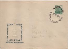 Allemagne Démocratique Michel Entier Postal Leipzig 25.11.1962 - Privatumschläge - Gebraucht