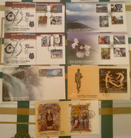Greece FDC 2001 Complete Year - FDC