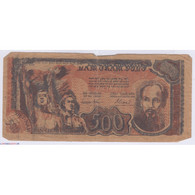 BILLET DU VIETNAM 500 DONG 1949 L'ART DES GENTS AVIGNON - Vietnam