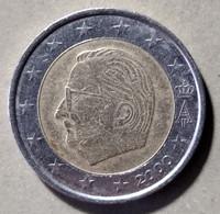 2000 - SPAGNA  - MONETA IN EURO - DEL VALORE DI  2,00 EURO  - CIRCOLATA - Spanien