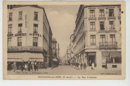BOULOGNE SUR MER - La Rue Faidherbe - Boulogne Sur Mer
