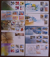 Greece FDC 2008 Complete Year - FDC