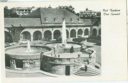 Bad Nauheim 1961; Drei Sprudel - Gelaufen. (Weyrauch & Braun - Bad Nauheim) - Bad Nauheim