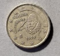 1999 -  SPAGNA  - MONETA IN EURO - DEL VALORE DI  10  CENTESIMI  - CIRCOLATA - Spanien