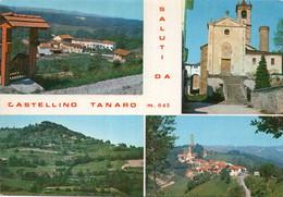 Saluti Da CASTELLINO TANARO - MULTIVEDUTE - FORMATO GRANDE - (rif. Q11) - Cuneo