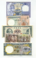 Set 5 Banknotes (see Scan) - XXF/aUNC- - Altri