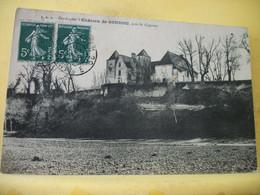 24 1302 INCONNU SUR DELCAMPE. CPA 1908 - 24 CHATEAU DE GOUDOU, PRES ST CYPRIEN - EDITEUR P. D. S. - Altri Comuni