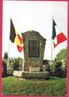 C.P.  Marcinelle  =   Monument Aux P.G. Français Et Belges évadés.  Déportés à  RAWA  RUSKA  (  URSS  ) - Charleroi