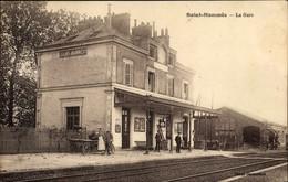 CPA Saint Mammès Seine Et Marne, La Gare - Otros Municipios