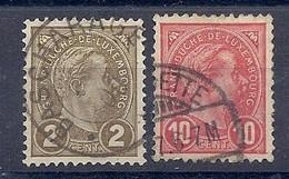 210039368  LUXEMBURGO.  YVERT  Nº  69/73 - 1895 Adolphe Profil