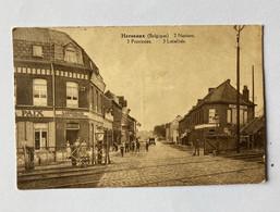 Herseaux Belgique 2 Nations .../ Café De La Gare - Mouscron - Moeskroen